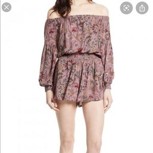 Free People Backless Romper